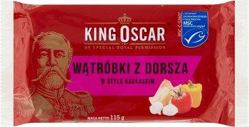 King Oscar wątróbki z dorsza w  stylu kaukaskim
