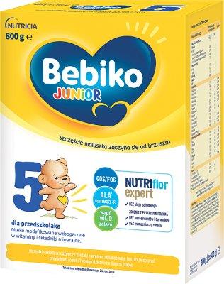Bebiko Junior 5 Mleko modyfikowane dla dzieci