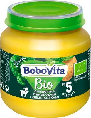 Bobovita BIO obiadek cielęcina z brokułami i ziemniakiem