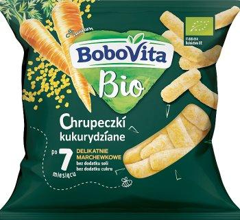 BoboVita BIO  chrupeczki kukurydziane delikatnie marchewkowe