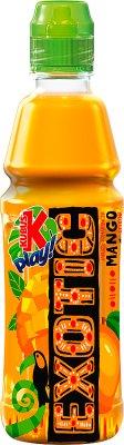 Kubuś Play Exotic napój o smaku jabłka pomarańczy i mango