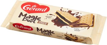 dr Gerard Magic Duet choco herbatniki z kremem czekoladowym