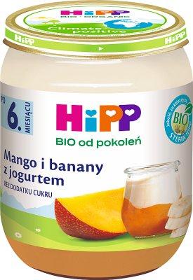 HIPP Mango i banany z jogurtem BIO