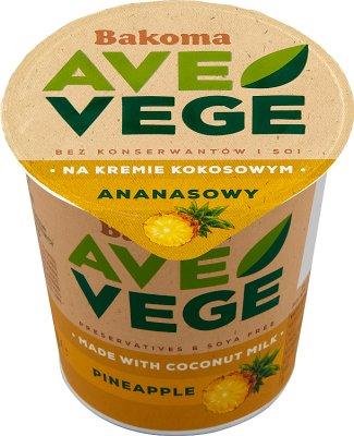 Bakoma Ave Vege Ananasowy na kremie kokosowym