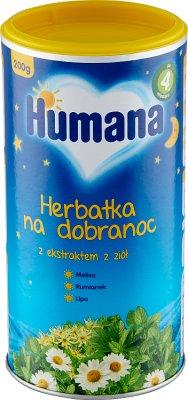 Humana Herbatka na dobranoc z ekstraktem ziół