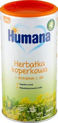 Humana Herbatka koperkowa z ekstraktem z ziół