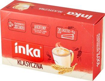 Inka Klasyczna w saszetkach rozpuszczalna kawa zbożowa 20 saszetek