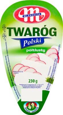 Mlekovita Twaróg Polski półtłusty 4% tł.