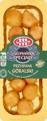 Mlekovita Przysmak Góralski Ser parzony, dojrzewający, wędzony.