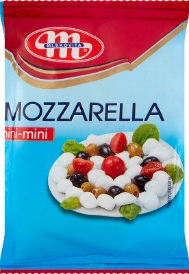 Mlekovita Ser Mozzarella mini-mini 19% tł.