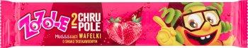 Mieszko Zozole Chrupole musujące wafelki o smaku truskawkowym