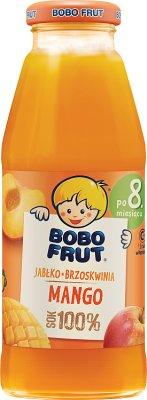 Bobo Frut Jabłko Brzoskwinia Mango Sok 100%