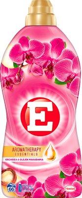 E Aromatherapy Essentials Płyn do zmiękczania tkanin orchidea & olejek makadamia