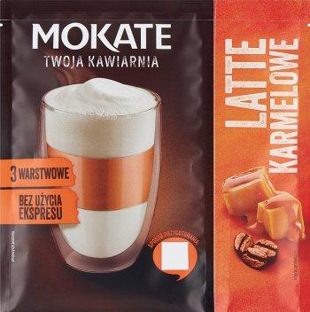 Mokate Kawa rozpuszczalna Latte Karmelowe Bez użycia ekspresu