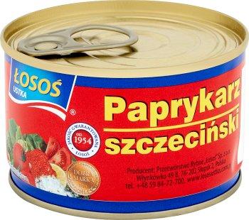 Salmon Ustka, Szczecin paprykarz