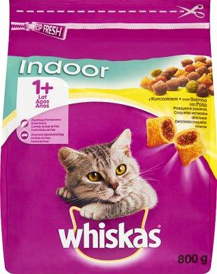 Whiskas Karma sucha Indoor z kurczakiem