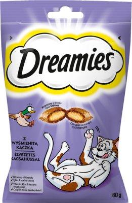 Dreamies Przysmak dla kota poduszki z wyśmienitą Kaczką