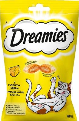 Dreamies przysmak dla kota Poduszki z pysznym Serem