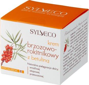 Sylveco Krem Brzozowo-Rokitnikowy z Betuliną, pielęgnacja skóry wrażliwej, atopowej, przesuszonej