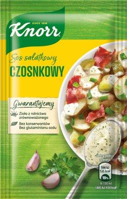 Knorr Sos sałatkowy czosnkowy