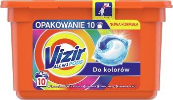 Vizir All in 1 Pods do kolorów Kapsułki do prania