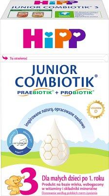 HIPP 3 JUNIOR COMBIOTIK Mleko dla dzieci
